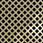 DIAMOND Perforated Decorative Grilles