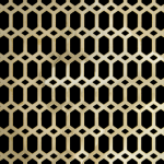 HEXALONG Perforated Decorative Grilles
