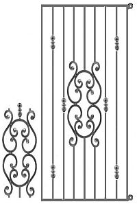 Decorative Security Gate - Example 1